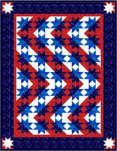 ... on Pinterest | Patriotic Quilts, Flag Quilt and American Flag Quilt