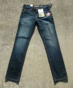 Levi Strauss Signature Men's Skinny Jeans Denim Size 29 x 32 New Free SHIP | eBay
