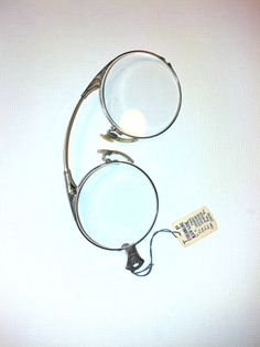Hey, I found this really awesome Etsy listing at https://www.etsy.com/listing/181225371/pince-nez-nwt-antique-amazing