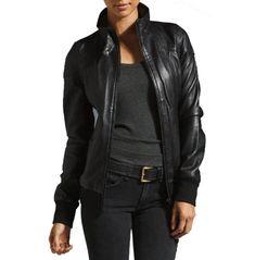 New handmade women hooded leather jacket, women leather jackets, fashion jacket Leather Jacket With Hood, Leather Vest, Black Leather, Lambskin Leather, Leather Shoes, Slim Fit Jackets, Jackets For Women, Leather Jackets For Men, Time 7