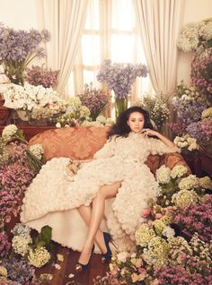 Floral Throne