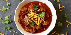This simple slow-cooker beef chili recipe is everything you are hoping for. The meat becomes fall-apart tender, and develops deep and satisfying flavor.