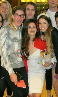 Lana Del Rey with fans #LDR