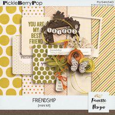 Friendship | Exclu FB Freebie by Fanette Design #fanettedesign #freebie #facebook