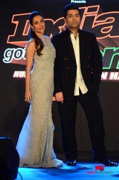 Malaika Arora Khan and Karan Johar at Launch of India's Got Talent - Season 7