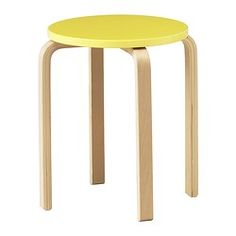 FROSTA stool for bedside table