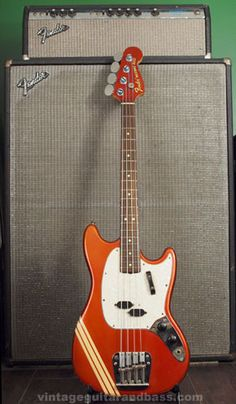 1969 Fender Competition Mustang bass guitar