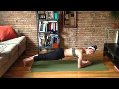 """Beginner Plank Series   """"Perfect for those starting to workout- or for those who want to test our their planking abilities. ENJOY!"""" Sweat with Lauren Hefez"""
