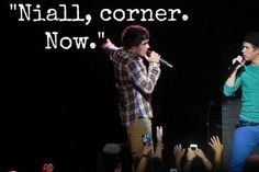 So sad BC naill doesn't even know why he's getting sent to the corner