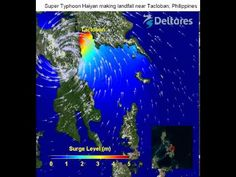 Extreme high wind speeds of almost 300 km/h during typhoon Haiyan caused a storm surge in San Pedro Bay. The bay is relatively deep, but at ...