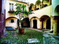 Hiding away Old town of Graz, Austria