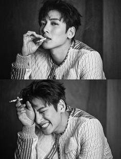 This is a page for all fans of Ji Chang Wook Disclaimer: I am not Ji Chang Wook or know Ji. Ji Chang Wook Smile, Ji Chang Wook Healer, Ji Chan Wook, Jung So Min, Korean Star, Korean Men, Ji Chang Wook Photoshoot, Suspicious Partner, Hxh Characters