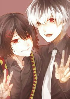 Juuzou Suzuya and Haise... If only.. @DaraenSuzu
