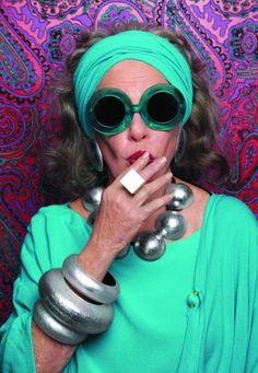 Ari Seth Cohen (Advanced Style) for Karen Walker Eyewear : @MegHan Burke in fifty years