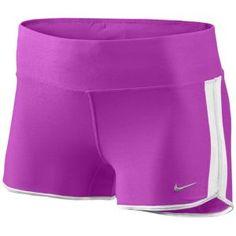 "Nike 2"" Boy Short - Women's - Running - Clothing - Bright Crimson/Barely Volt/Matte Silver"