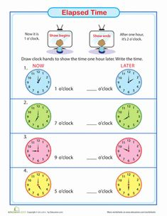 calculating elapsed time.