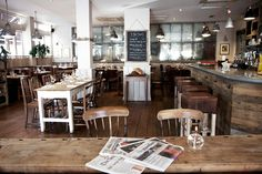 Brown Cow - Putney - warm and eclectic