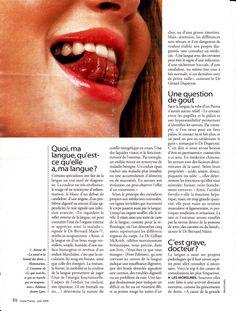 """Page 3 de """"la langue elle dit tout de nous"""" Dit, Signs, Lipstick, Language, I Want You, Shop Signs, Sign, Lipsticks"""