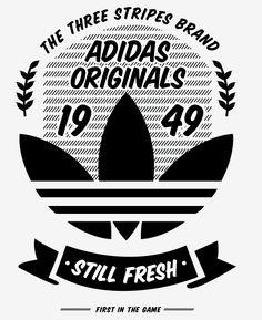 A few t-shirt graphics i did for adidas Originals.