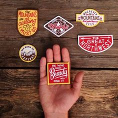 SUMMER CAMP patches--the link dead ends, but maybe these are available somewhere that a google search would turn up?