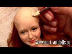 """Анонс видео МК """"Как создать куклу из запекаемого пластика"""""""
