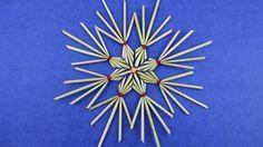 Strohsterne aus Strohhalme basteln ❁ Deko Ideen mit Flora-Shop
