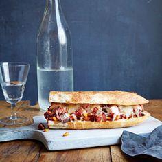 Mario Batali's Eggplant Caponata Subs Recipe - Good Housekeeping