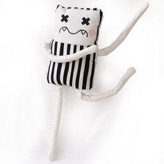 Stripes Pelos Plush by PinkyPunk