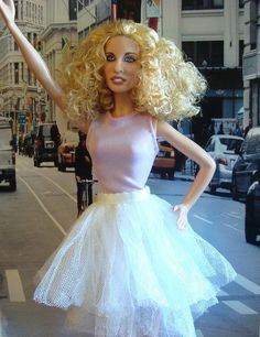 Sarah Jessica Parker as Carrie Bradshaw (Sex and the City) doll
