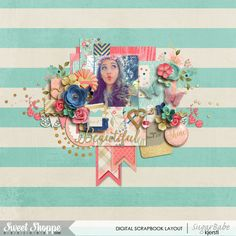 Credits: Just For You by Two Tiny Turtles All That Glitters by Studio Flergs & Zoe Pearn Layout by Kjersti Sudweeks Sweetshoppe Designs