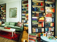 DIY Built-ins | 20 Home Libraries