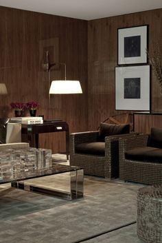 Roberto Migotto - arquitetura | interiores love the wall lamp and the room tone