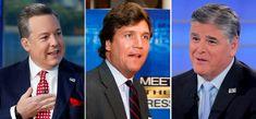 Fox News stars Sean Hannity, Tucker Carlson and fired anchor Ed Henry in lawsuit Fox News Anchors, Manhattan Hotels, Cocktail Waitress, Tucker Carlson, Sean Hannity, Fox News Channel, New Employee, New Star, Chicago Tribune