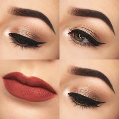 Champagne Eyes & Terracotta Lips. | Gemma Louise // Beauty & Lifestyle Blog