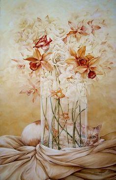 Tutt'Art@ | Pittura * Scultura * Poesia * Musica |: Chelìn Sanjuan, 1967 ~ Magical Realism painter