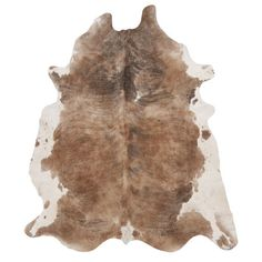 Office - 7' X 7' - Bring a luxe touch to your foyer, living room, or master suite with this handsomely handcrafted cowhide rug, featuring a light brindle hue.    $467.95...