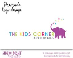 Kids Logo Design, Boutique Logo Design, Baby Logo Design, Kids Logo Design, Logo Design Fashion Logo Small Business Logo PL007 by StudioDesset on Etsy
