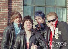 Misfits Glenn Danzig, Mr. Jim, Jerry Only, Franché Coma