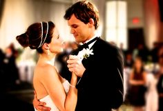Brooke and Julian :) one tree hill weddings are the best!
