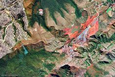 Belo Horizonte, Brazil | 10 Most Beautiful Google Earth Aerial View Landscapes Images (With Wallpapers)