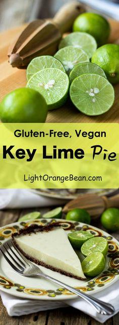 Gluten-Free Vegan Key Lime Pie