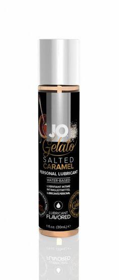 Glijmiddel - 30 ml Zeezout Karamel - JO Gelato