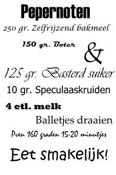 Sinterklaas kapoentje verkrijgbaar in formaat en Dutch Recipes, High Tea, Cooking Time, Silhouette Cameo, Back To School, Bakery, Deserts, Yummy Food, Quotes