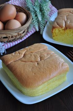 Traditional Homemade Egg Sponge Cake 传统鸡蛋糕