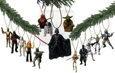 Have A Star Wars Christmas With These Ornaments | Geek Decor