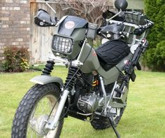 Awesome zombie killer motorcycle