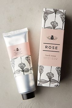 Thistle and vine hand cream. In rose please!
