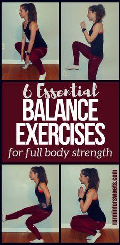 6 Full Body Balance Exercises for Runners   Runnin' for Sweets