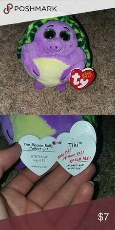 40a64ca9bda ty toy (beanie ballz) new with tag name. nothing wrong with it. it s part  of the beanie ballz collection. it s a turtle ty toy Other