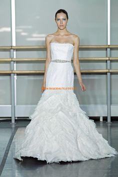 Elegante Luxuriöse Hochzeitskleider aus Organza
